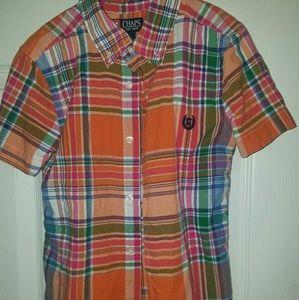 BOYS SIZE 7 CHAPS DRESS SHIRT